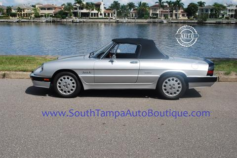 1986 Alfa Romeo Spider for sale in Tampa FL