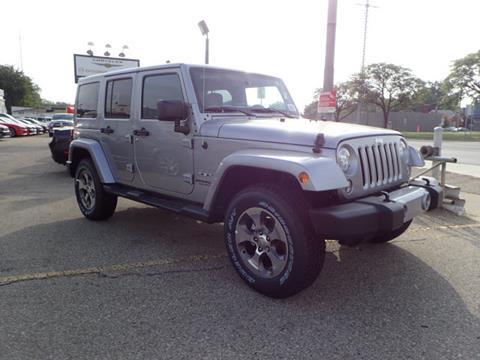 2017 Jeep Wrangler Unlimited for sale in Oak Park, MI