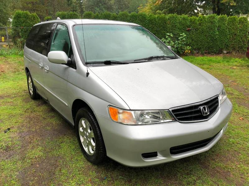 2002 Honda Odyssey For Sale At Lux Auto Sales LLC In Woodinville WA