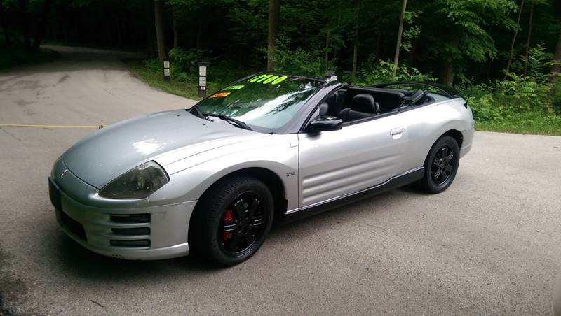 2001 Mitsubishi Eclipse Spyder For Sale At Auto Fin Auto 123 In Mount  Prospect IL