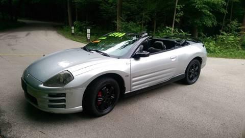 2001 Mitsubishi Eclipse Spyder For Sale In Illinois Carsforsale