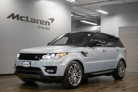 2016 Land Rover Range Rover Sport for sale in Chicago IL