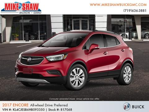 2017 Buick Encore for sale in Colorado Springs, CO