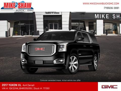 2017 GMC Yukon XL for sale in Colorado Springs, CO