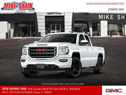 2018 GMC Sierra 1500 for sale in Colorado Springs, CO