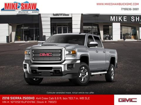2018 GMC Sierra 2500HD for sale in Colorado Springs, CO