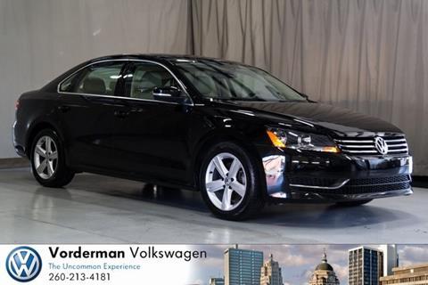 2013 Volkswagen Passat for sale in Fort Wayne, IN