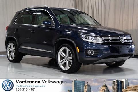 2015 Volkswagen Tiguan for sale in Fort Wayne, IN