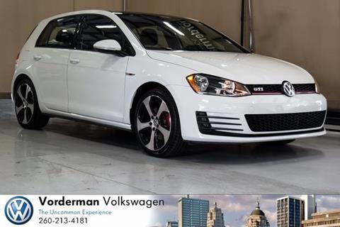 2015 Volkswagen Golf GTI for sale in Fort Wayne, IN