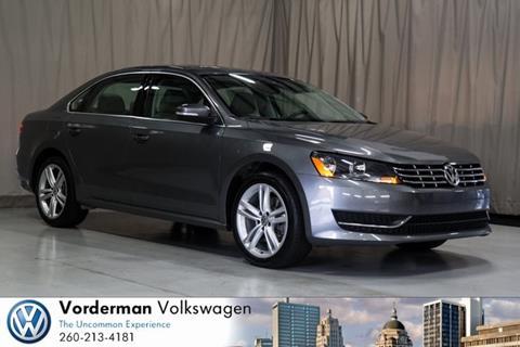 2015 Volkswagen Passat for sale in Fort Wayne IN
