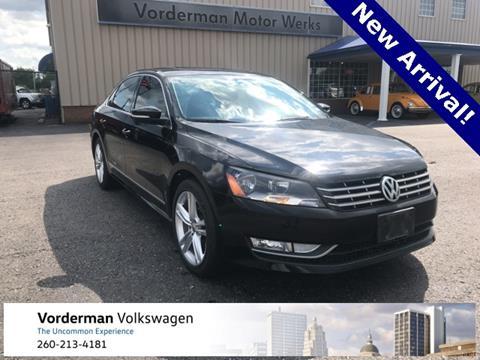 2014 Volkswagen Passat for sale in Fort Wayne, IN