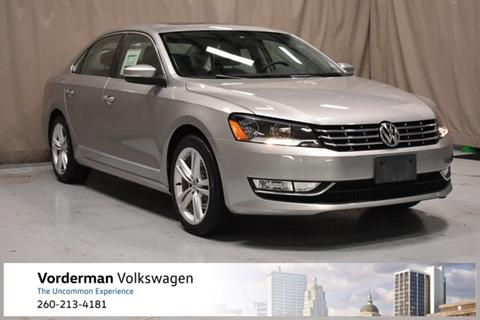 2014 Volkswagen Passat for sale in Fort Wayne, IN