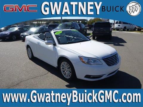 2012 Chrysler 200 Convertible for sale in North Little Rock AR