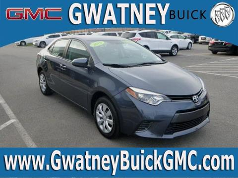 2016 Toyota Corolla for sale in North Little Rock, AR