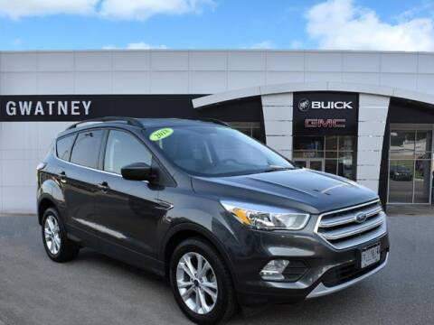 2018 Ford Escape for sale at DeAndre Sells Cars in North Little Rock AR