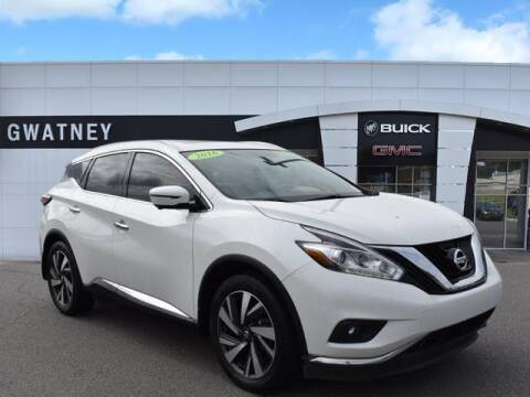 2016 Nissan Murano for sale at DeAndre Sells Cars in North Little Rock AR
