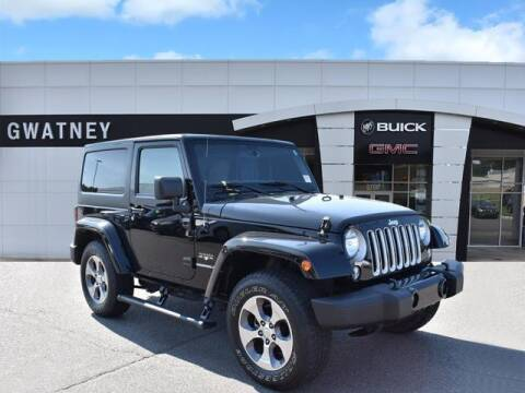 2016 Jeep Wrangler for sale at DeAndre Sells Cars in North Little Rock AR