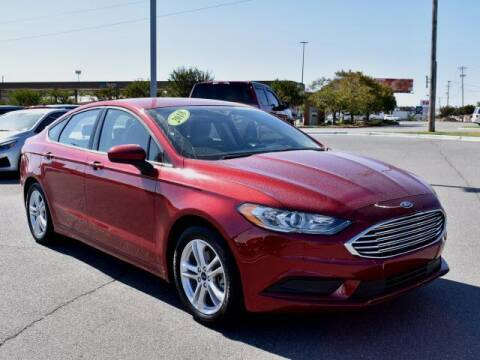 2018 Ford Fusion for sale at DeAndre Sells Cars in North Little Rock AR