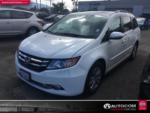 2016 Honda Odyssey For Sale In Concord, CA