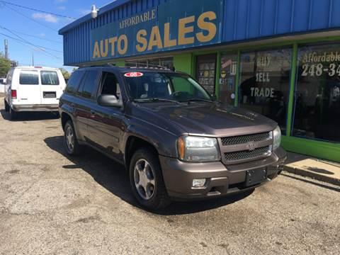 2008 Chevrolet TrailBlazer for sale in Pontiac, MI