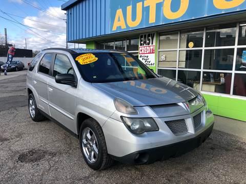 2005 Pontiac Aztek for sale in Pontiac, MI