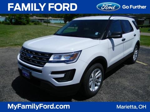 2017 Ford Explorer for sale in Marietta, OH