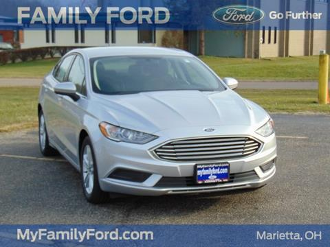 2018 Ford Fusion for sale in Marietta, OH