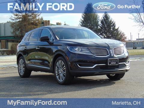 2017 Lincoln MKX for sale in Marietta, OH