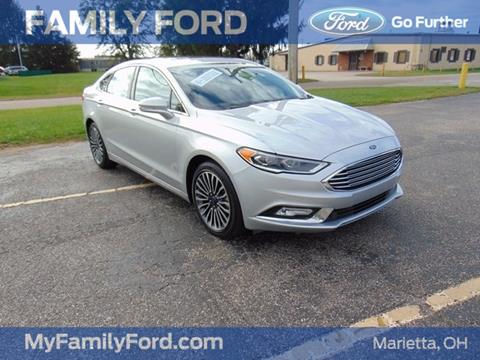 2017 Ford Fusion for sale in Marietta OH
