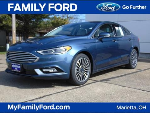 2018 Ford Fusion for sale in Marietta OH