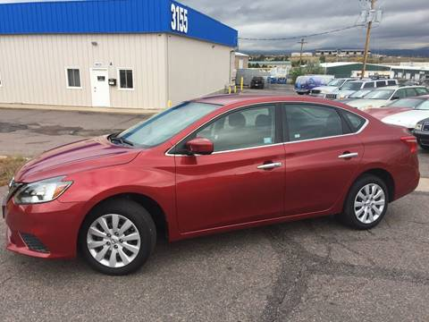 2016 Nissan Sentra for sale at Cherry Motors in Castle Rock CO