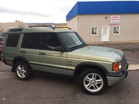 2002 Land Rover Discovery Series II for sale at Cherry Motors in Castle Rock CO