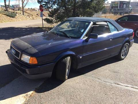 1997 Audi Cabriolet for sale at Cherry Motors in Castle Rock CO