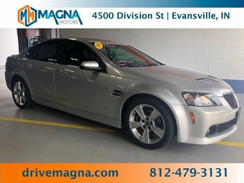 2009 Pontiac G8 for sale in Evansville, IN