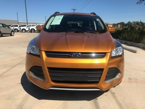 2016 Ford Escape for sale in Lockhart TX