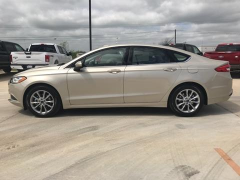2017 Ford Fusion for sale in Lockhart, TX