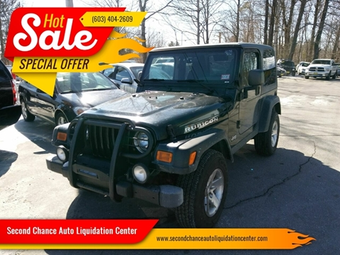 2003 Jeep Wrangler for sale in Derry, NH
