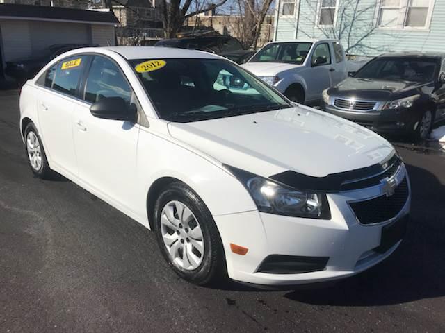 2012 Chevrolet Cruze For Sale At Alexander Antkowiak Auto Sales In Hatboro  PA