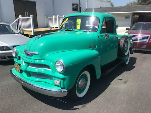 1954 Chevrolet 3100 for sale at Alexander Antkowiak Auto Sales in Hatboro PA