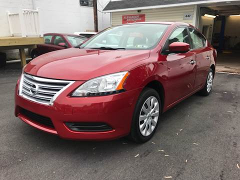 2014 Nissan Sentra for sale at Alexander Antkowiak Auto Sales in Hatboro PA