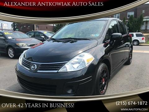 2007 Nissan Versa for sale at Alexander Antkowiak Auto Sales in Hatboro PA