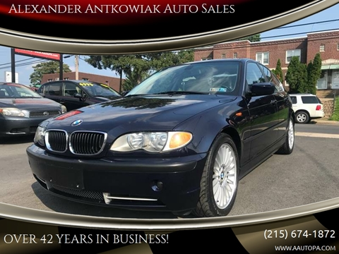 2002 BMW 3 Series for sale at Alexander Antkowiak Auto Sales in Hatboro PA