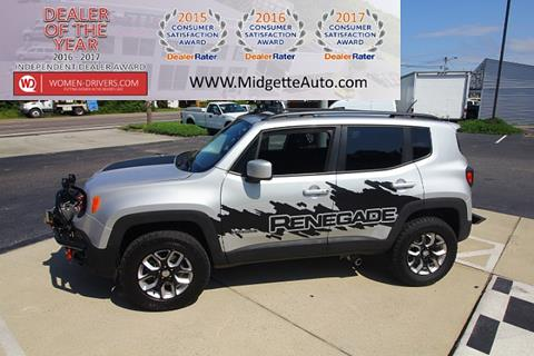 2016 Jeep Renegade for sale in Harbinger, NC