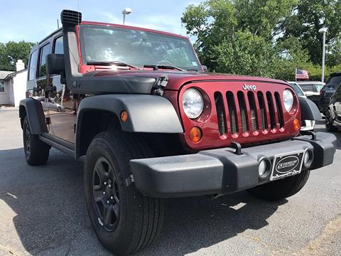 2010 Jeep Wrangler Unlimited for sale in Harbinger, NC