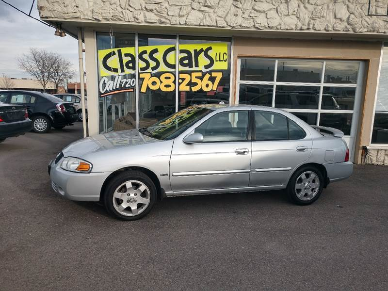 2006 Nissan Sentra 1.8 In Lakewood CO - Class Cars LLC