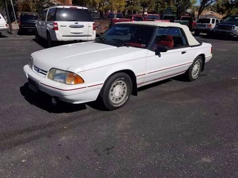 1992 Ford Mustang for sale in Elizabeth, CO