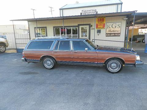 Buick Electra For Sale