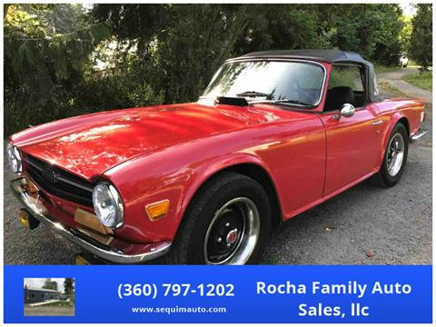 1971 Triumph TR6 for sale in Sequim WA