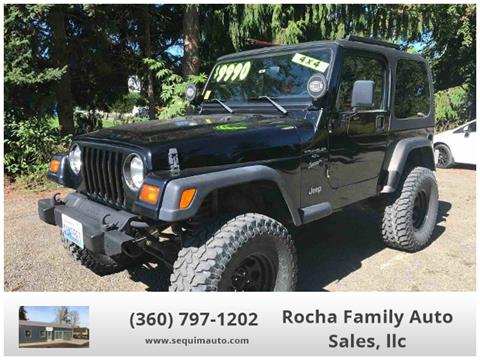 1999 Jeep Wrangler for sale in Sequim WA