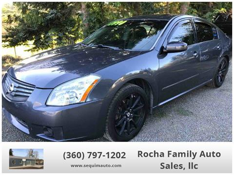 2007 Nissan Maxima for sale in Sequim WA